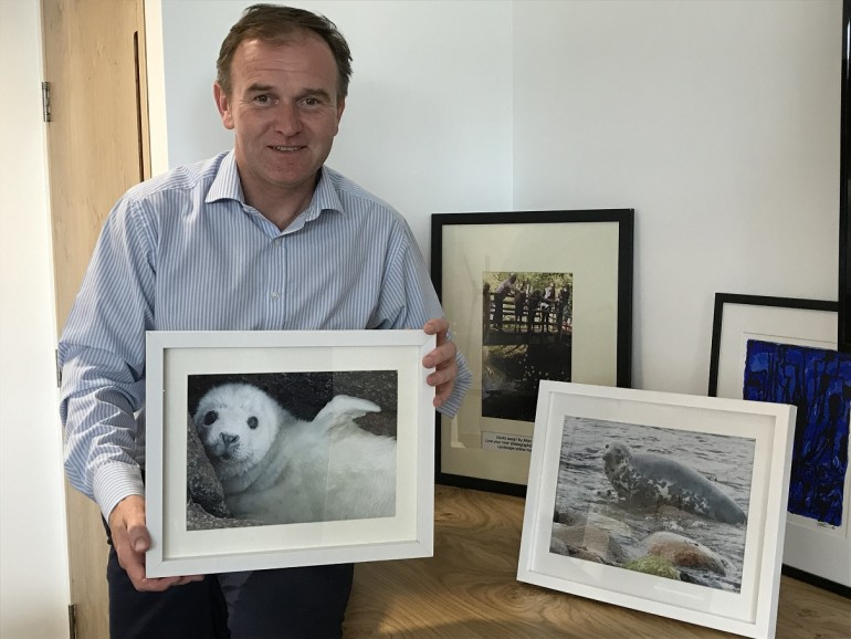 George Eustice is a great ambassador for seals